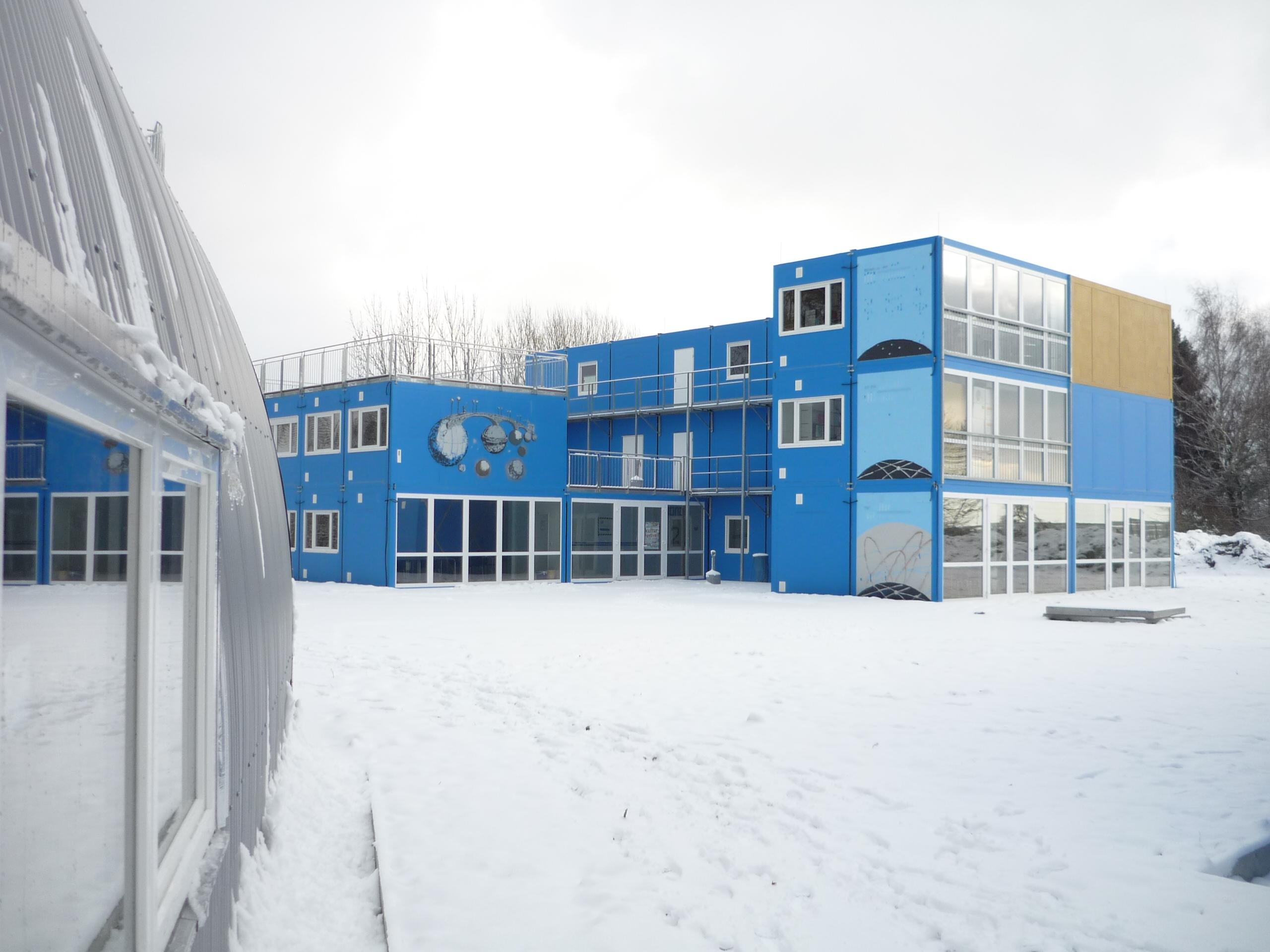 ContainerUni: Mondhaus / Moon House 2012 (Foto: Margit Czenki)